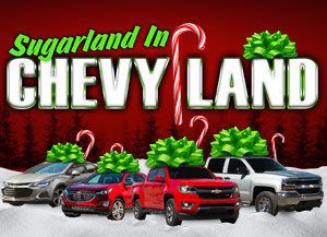 Sugarland In Chevy Land Saturdays in December